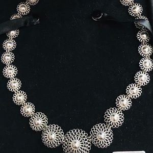 """.925 Silver Hill Tribes Handcrafted 17"""" Necklace"""